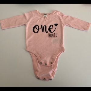 Other - Month Onesie